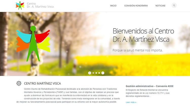 """El """"Centro Nacional de Rehabilitación Psíquica – Dr. A. Martínez Visca"""" actualiza su Página web"""